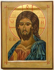 Icon: Head of Christ, 1999 photograph by David Elliott