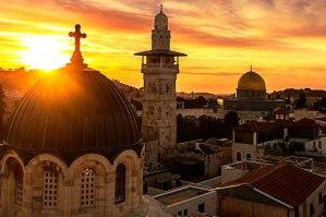 Jerusalem sunrise