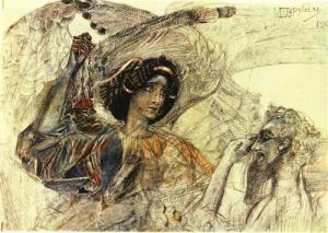 The Six Winged Seraph Mikhail Vrubel, 1905 Pushkin Museum of Fine Art, Moscow, Russia