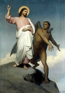 The Temptation of Christ Ary Scheffer, 1854 Walker Art Gallery Liverpool, UK