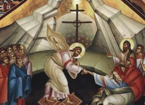 Descent into Hades Greek Orthodox Icon