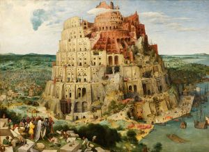 The Tower of Babel by Pieter Bruegel the Elder (1563)