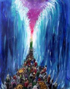 Crossing the Red Sea by hiraku-kun