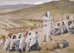Jacob Sees Esau Coming to Meet Him James Tissot, circa 1896–1902 Jewish Museum, New York