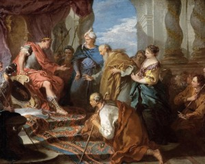Joseph Presenting His Father and Brothers to the Pharaoh François Boucher - circa 1723-1726 Columbia Museum of Art (South Carolina)