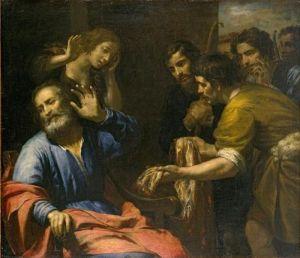 Joseph's Coat Brought to Jacob by Giovanni Andrea de Ferrari, c. 1640 El Paso Museum of Art