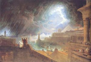 The Seventh Plague John Martin's painting of the plague of hail and fire (1823) Museum of Fine Arts, Boston