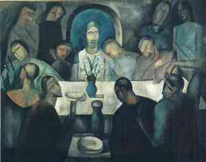 The Last Supper of Jesus Andre Derain, 1911