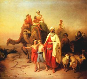 Abraham's Journey from Ur to Canaan József Molnár, 1850 Hungarian National Gallery, Budapest