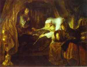 David's Dying Charge to Solomon Ferdinand Bol, 1643 National Gallery of Ireland