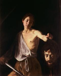 David with the head of Goliath Caravaggio, 1606-07 Galleria Borghese, Rome