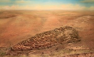 Rendition of original City of David
