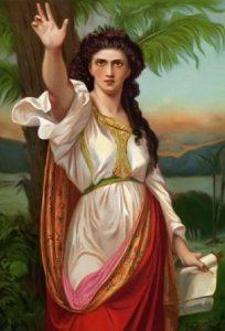 """Deborah"" Charles Zacharie Landelle, (1821-1908) Private Collection"
