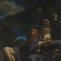 Guercino - Elijah Fed By Ravens [1620] The National Gallery , London