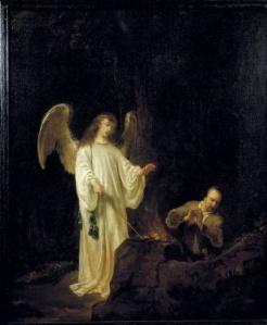 The Angel of the Lord appears unto Gideon Ferdinand Bol, 1640 Museum Catharijneconvent, Utrecht
