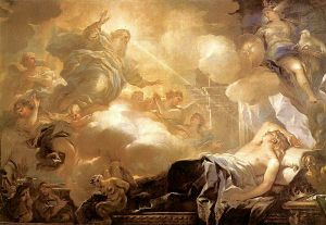 Dream of Solomon – God promises Solomon Wisdom Luca Giordano, circa 1693 Museo Nacional del Prado, Madrid