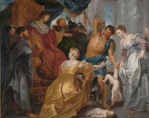 The Judgement of Solomon Peter Paul Rubens, circa 1617 Statens Museum for Kunst Copenhagen, Denmark