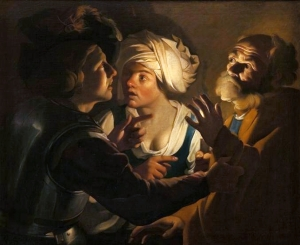 The Denial of Saint Peter Dirck van Baburen, between 1620 and 1624 National Museum, Kraków