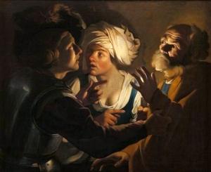 The Denial of Saint Peter Dirck van Baburen, between 1620 and 1624 National Museum, Kraków
