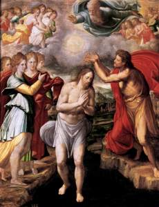 Baptism of Christ Juan Fernández de Navarrete, c. 1568 Museo del Prado, Madrid