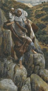 The Good Shepherd (Le bon pasteur) James Tissot, between 1886 and 1894 Brooklyn Museum, New York City