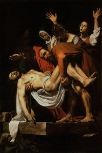 The Entombment of Christ Caravaggio, circa 1602–1603 Vatican