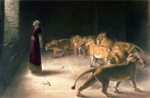 Daniel's Answer to the King B. Pratt, after Briton Rivière, 1892 Private collection