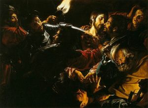 Taking of Christ with the Malchus episode Gérard Douffeet, circa 1620 Museum of Fine Arts Boston