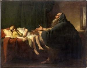 Elijah Raising the Widow's Son Benjamin West (1774) Philadelphia Museum of Art | Philadelphia