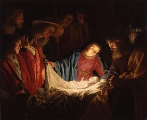 Adoration of the Shepherds Gerard van Honthorst, 1622 Pomerania State Museum, Germany