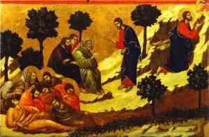 Prayer on the Mount of Olives (Luke 22:39) Duccio di Buoninsegna, 1308-11 Museo dell'Opera Metropolitana del Duomo, Siena