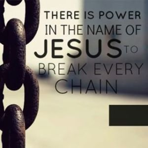 power in the name of Jesus
