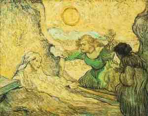 Raising of Lazarus Vincent Van Gogh Saint-Rémy: May, 1890 Van Gogh Museum, Amsterdam