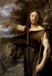 St John the Baptist pointing to Jesus