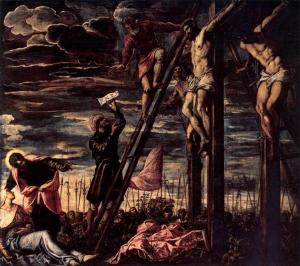 The Crucifixion of Christ Tintoretto, 1568 San Cassiano, Venice