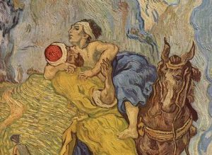 The good Samaritan Vincent van Gogh, 1890 Kröller-Müller Museum Otterlo, Netherlands