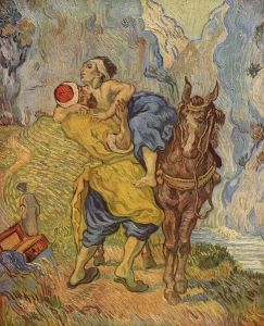 The good Samaritan Vincent van Gogh, 1890 Kröller-Müller Museum Otterlo, Netherlands