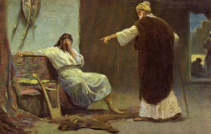 The Prophet Nathan Confronts King David