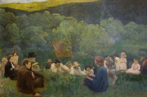 The Sermon on the Mountain Károly Ferenczy, 1896 Hungarian National Gallery, Budapest