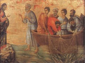Peter and Jesus Post-Resurrection