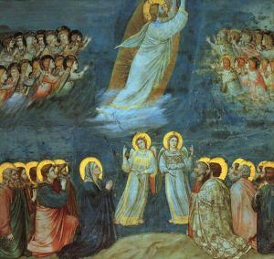 Ascension (Life of Christ) Giotto, ca. 1300 Cappella degli Scrovegni, Padua