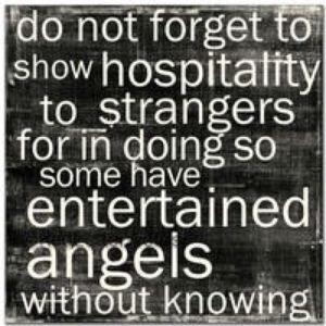 hospitality to strangers