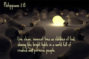 live clean innocent lives shining