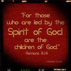 spirit led children of God
