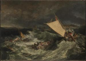 The Shipwreck exhibited 1805 Joseph Mallord William Turner 1775-1851 Tate Britain