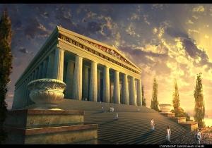 The Temple of Artemis at Ephesus (Representation)