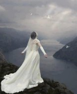Bride of Christ in white