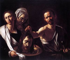 Salome with the Head of John the baptist Caravaggio, 1610 National Gallery, London