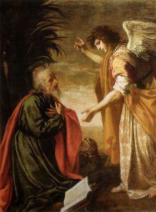 John the Apostle on Patmos by Jacopo Vignali, 17th Century Chiesa dei Santi Michele e Gaetano, Florence