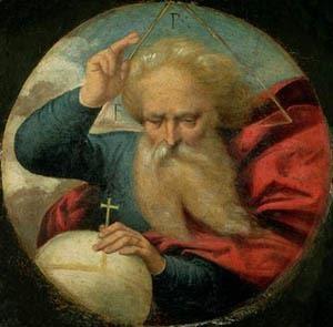 """""""God Blessing the Earth"""" Garofalo Nationalmuseum Stockholm."""